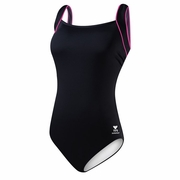 TYR Pink Square Neck Controlfit Swimsuit - Women's
