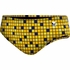 TYR Team Check All Over Racer Swim Brief - Boy's
