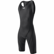 TYR Tracer Light Zipperback Short John Swimsuit - Men's