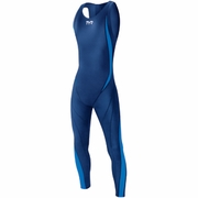 TYR Tracer Light Zipperback Speed Full Body Swimsuit - Men's