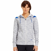 Under Armour Charged Cotton Storm Marble Full Zip Hooded Sweatshirt - Women's