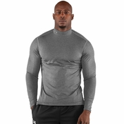 Under Armour ColdGear Fitted Long Sleeve Mock Base Layer - Men's