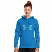 Under Armour Fleece Storm Big Logo Hooded Sweatshirt - Women's