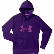 Under Armour Fleece Storm Pulse Big Logo Hooded Sweatshirt - Women's