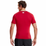 Under Armour HeatGear Sonic Short Sleeve Compression Top - Men's