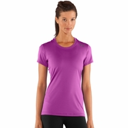Under Armour HeatGear Sonic Short Sleeve Workout Shirt - Women's