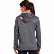 Under Armour Power In Pink She's A Fighter Hooded Sweatshirt - Women's