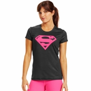 Under Armour Supergirl Fitted Workout Shirt - Women's