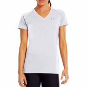 Under Armour Tech Short Sleeve V-Neck Workout Shirt - Women's