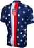 World Jersey 1956 USA Short Sleeve Cycling Jersey - Men's