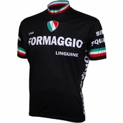 World Jersey Formaggio 1968 Retro Short Sleeve Cycling Jersey - Men's
