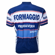 World Jersey Formaggio 1972 Retro Short Sleeve Cycling Jersey - Men's