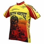 World Jerseys Kinetic Koffee Cycling Jersey - Men's