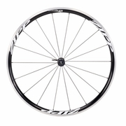 Zipp 101 Clincher Front Bicycle Wheel - Classic White