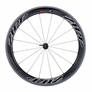 Zipp 404 Firecrest Carbon Clincher Front Bicycle Wheel - Beyond Black