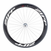 Zipp 404 Firecrest Track Tubular Front Bicycle Wheel - Classic White