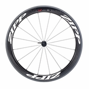 Zipp 404 Firecrest Tubular Front Bicycle Wheel - Classic White