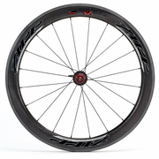 Zipp 404 Firecrest Tubular Rear Bicycle Wheel - Beyond Black - 2012