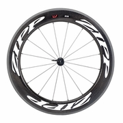 Zipp 808 Firecrest Carbon Clincher Front Bicycle Wheel - Classic White