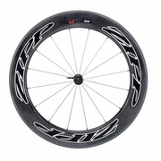 Zipp 808 Firecrest Tubular Front Bicycle Wheel - Beyond Black
