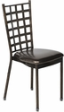 500 lb. Max Natalie Chocolate Chair with Chocolate Vinyl Cushion [MB600-NATALIE-AC-CSP]