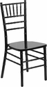 Hercules Series Black Wood Chiavari Chair [XS-BLACK-GG]
