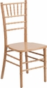 Hercules Series Natural Wood Chiavari Chair [XS-NATURAL-GG]
