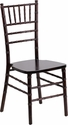 HERCULES Series Walnut Wood Chiavari Chair with Free Cushion [XS-WALNUT-GG]