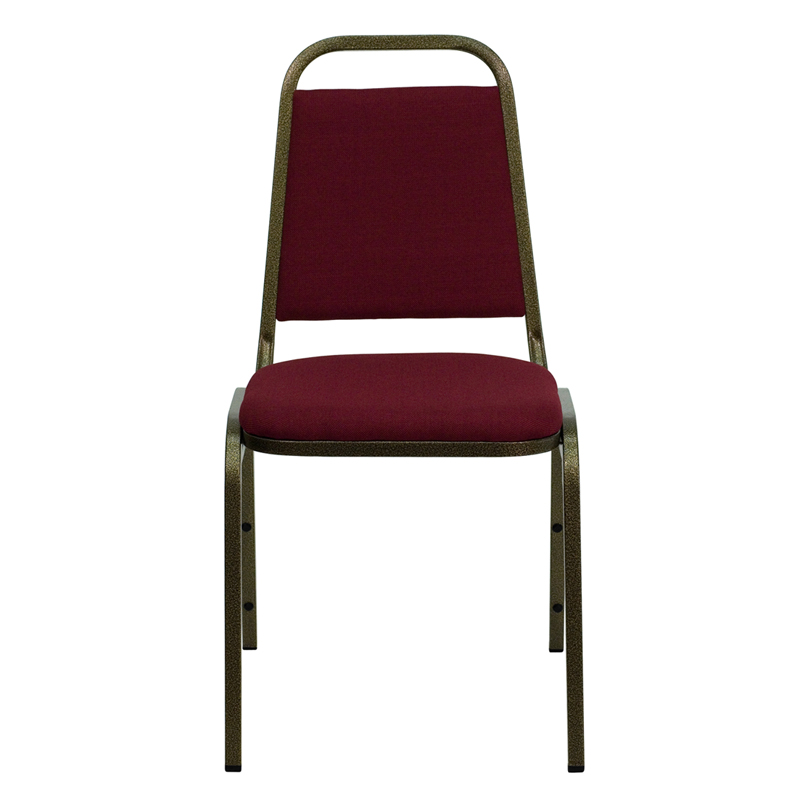 Hercules Series Trapezoidal Back Stacking Banquet Chair In