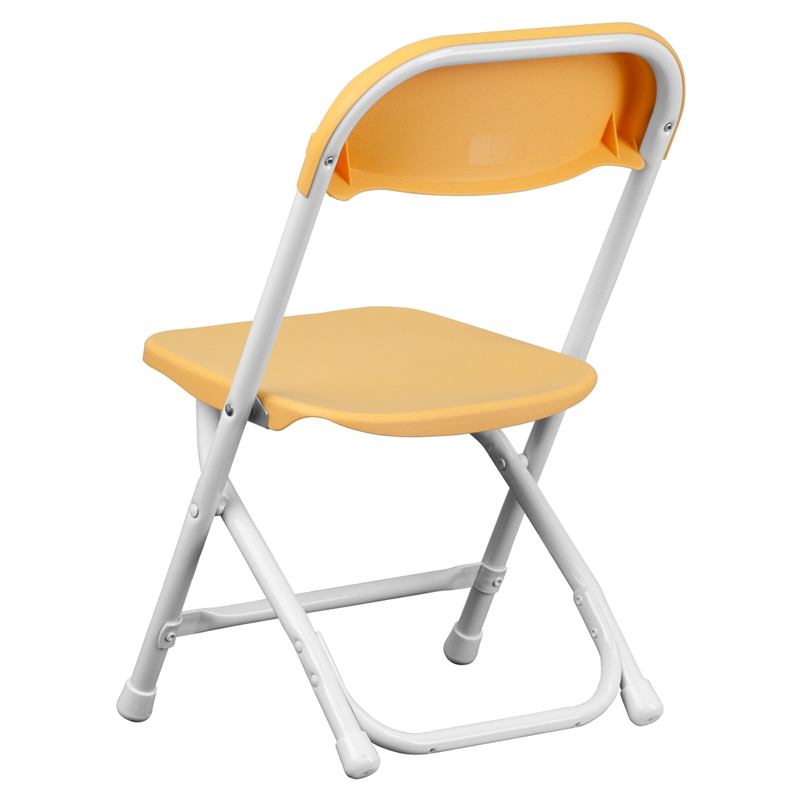 Kids Yellow Plastic Folding Chair Y KID YL GG