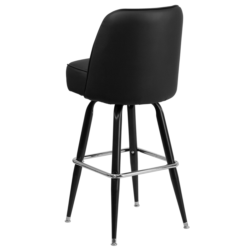 Metal Bar Stool With Swivel Bucket Seat Bfdh 26781 Stool