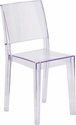 Phantom Series Transparent Stacking Side Chair [FH-121-APC-GG]