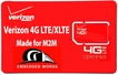 1GB per month 4G-LTE Verizon 6 months PrePaid Data Plan (USA ONLY)