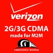 50MB per month 4G/3G  Verizon 6 months PrePaid Data Plan (USA ONLY)