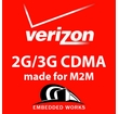5MB per month 4G/3G  Verizon 6 months PrePaid Data Plan (USA ONLY)