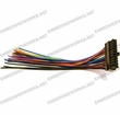 Calamp I/O Harness, LMU-4200/5000, 22-pin, 20-Wire Non-Fused, 6 in pn 5C889