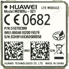 Huawei ME909U-521 4G LTE (EU) /3G HSPA+ Surface Mount (LGA) with GPS LTE Europe Certified