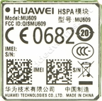 Huawei MU609 3G HSPA / HSPA+ Surface Mount (LGA) with GPS AT&T - USA Certified