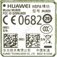 Huawei MU609 3G UMTS/ HSPA Surface Mount (LGA) with GPS AT&T - USA Certified