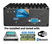 Jetway NUC EmbeddedPC JBC312U92W-g Intel i5-4300U 1.9GHz WiFi 802.11n + BT 4GB DDR3 64GB SSD Assembled and Pre-Tested