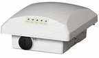 Ruckus Wireless ZoneFlex T300e, outdoor access point, 802.11ac 2x2:2 internal BeamFlex+ 2 / 5GHz, external 5GHz N-female, dual band concurrent, one ethernet port, PoE input