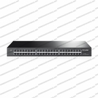 TP-Link / TL-SG1048 / 48-port Gigabit Switch, 48 10/100/1000M RJ45 ports, 1U 19-inch rack-mountable steel case