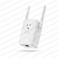 TP-Link TL-WA860RE / 802.11b/g/n @ 2.4GHz / N300 Universal Wi-Fi Wall Plug Range Extender with External Antennas and AC Pass-thru