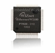 W5100 3-in-1 Ethernet Controller : TCP/IP + MAC + PHY