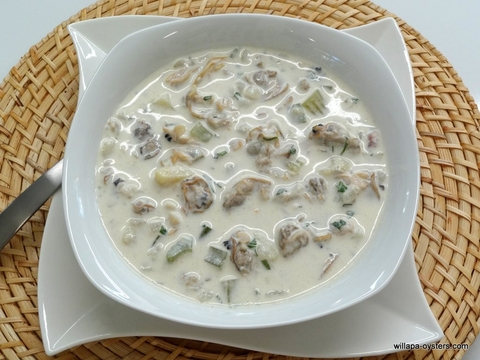 Manila and Razor Clam Chowder