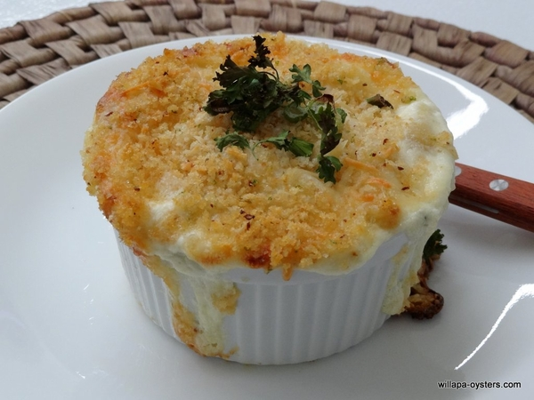 Dungeness Crab Mac and Cheese  -  Two Ramekins