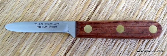 WILLAPA OYSTERS Long Island Clam Knife<br>3 Inch
