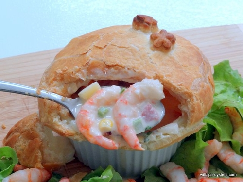 Wild Shrimp Pot Pies