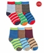 1181 Stripe Crew 6 Pair Pack