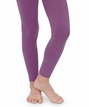1546 Pima Cotton Footless Tights ~ Purple